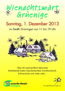 Flyer Weihnachtsmarkt 2013